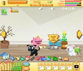 jeu gratuit happy pets mes jeux virtuels annuaire des jeux gratuits en ligne. Black Bedroom Furniture Sets. Home Design Ideas