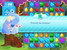 Candy Crush - Bienvenue dans un monde de sucrerie où on peut jouer avec des bonbons en tout genre pendant des heures. Fais disparaitre toutes les sucreries de ton écran et réussis toutes les étapes de jeu. Candy Crush est un jeu accessible gratuitement en ligne alors il n'est pas nécessaire de le télécharger.