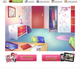 jeu gratuit amour sucr mes jeux virtuels annuaire des jeux gratuits en ligne. Black Bedroom Furniture Sets. Home Design Ideas